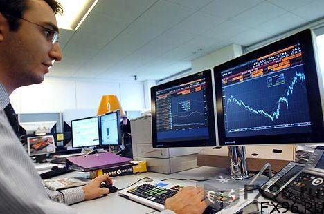 Трейдер за работой на рынке Форекс
