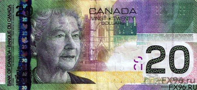 20 долларов канадских