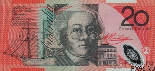 20 австралийских долларов (AUD)