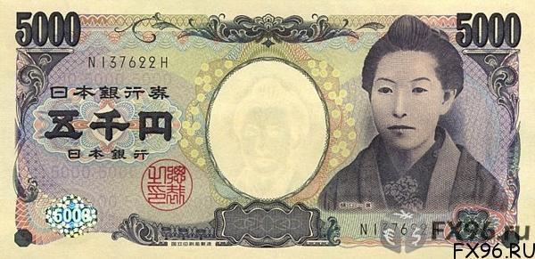 кпюра японская йена