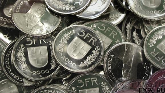 швейцарские франки монеты