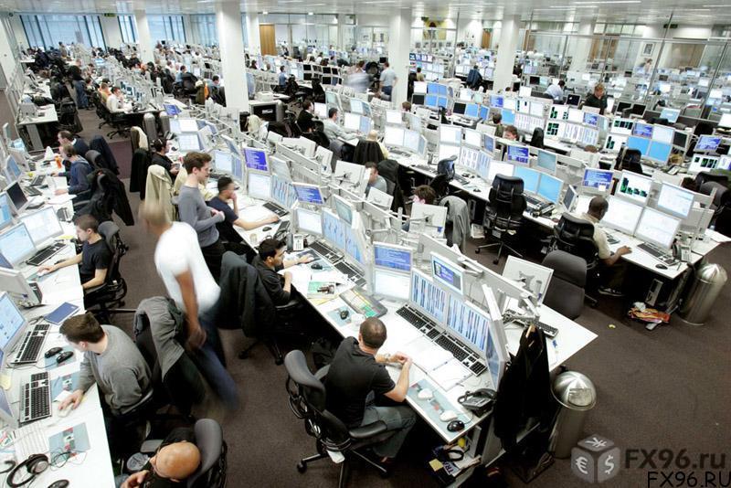 трейдеры работают на бирже