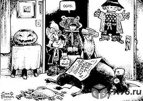 медвежий рынок на Форекс